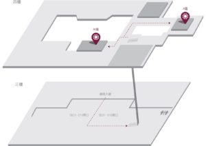 台北 pp lounge map