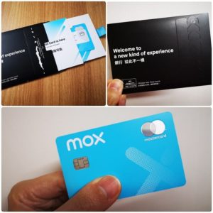 虛擬銀行Mox Bank Master Debit Card